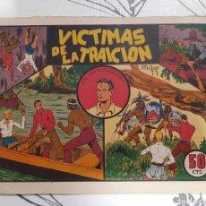 Tebeos: VICTIMAS DE LA TRAICION, TONÍN EL HUERFANITO N° 2 COMO NUEVO. Lote 221411770