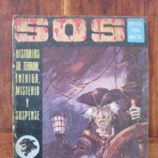 Tebeos: SOS HISTORIAS DE TERROR, INTRIGA, MISTERIO Y SUSPENSE NUM. 18. AÑO 1. ED. VALENCIANA 1975. Lote 221446123