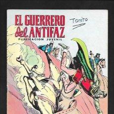 Tebeos: EL GUERRERO DEL ANTIFAZ, EL CASTIGO DE ALI KAN, NUMERO 196, EDITORIAL VALENCIANA.. Lote 221481957