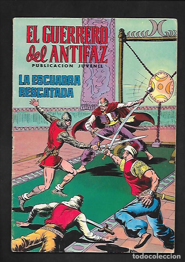 EL GUERRERO DEL ANTIFAZ, LA ESCUADRA RESCATADA, NUMERO 157, EDITORIAL VALENCIANA. (Tebeos y Comics - Valenciana - Guerrero del Antifaz)