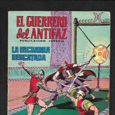 Tebeos: EL GUERRERO DEL ANTIFAZ, LA ESCUADRA RESCATADA, NUMERO 157, EDITORIAL VALENCIANA.. Lote 221491560