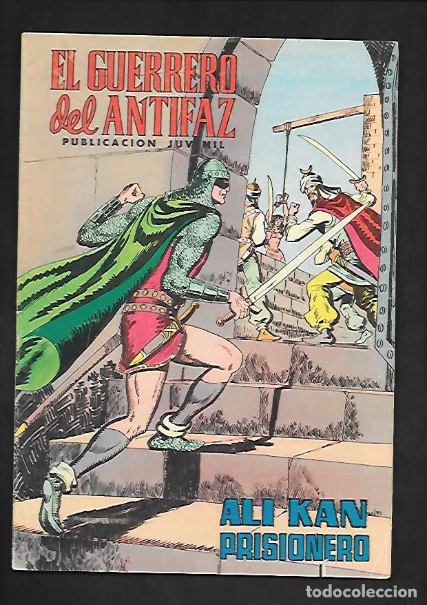 EL GUERRERO DEL ANTIFAZ, ALI KAN PRISIONERO, NUMERO 141, EDITORIAL VALENCIANA. (Tebeos y Comics - Valenciana - Guerrero del Antifaz)