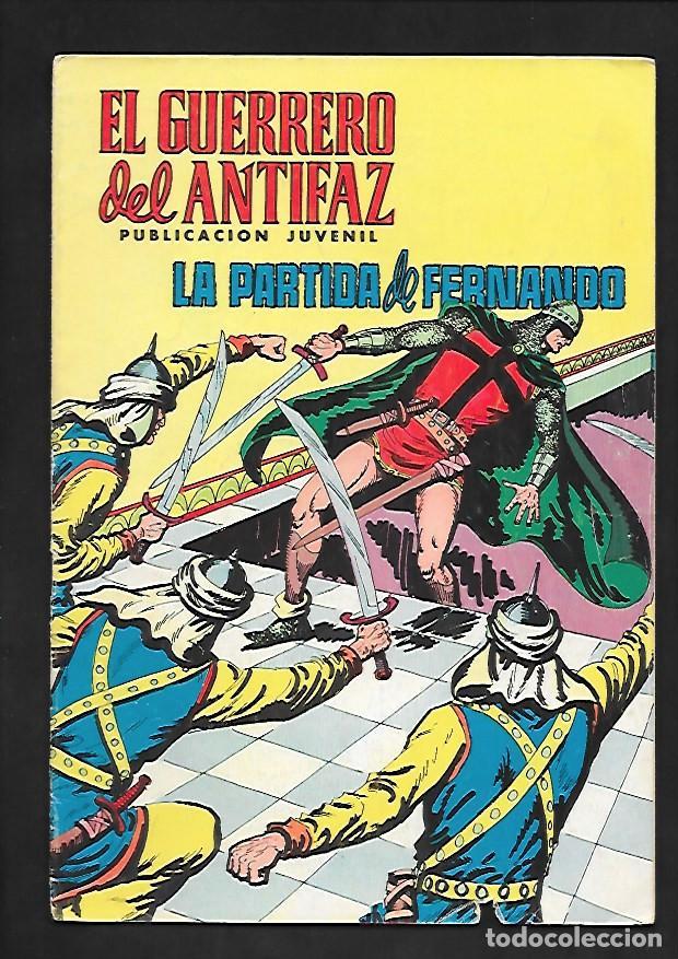 EL GUERRERO DEL ANTIFAZ, LA PARTIDA DE FERNANDO, NUMERO 95, EDITORIAL VALENCIANA. (Tebeos y Comics - Valenciana - Guerrero del Antifaz)