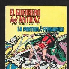 Tebeos: EL GUERRERO DEL ANTIFAZ, LA PARTIDA DE FERNANDO, NUMERO 95, EDITORIAL VALENCIANA.. Lote 221495137