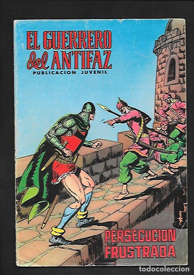 EL GUERRERO DEL ANTIFAZ, PERSECUCION FRUSTADA, NUMERO 78, EDITORIAL VALENCIANA. (Tebeos y Comics - Valenciana - Guerrero del Antifaz)