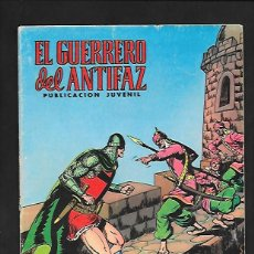 Tebeos: EL GUERRERO DEL ANTIFAZ, PERSECUCION FRUSTADA, NUMERO 78, EDITORIAL VALENCIANA.. Lote 221495893