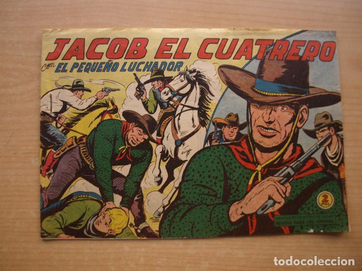 EL PEQUEÑO LUCHADOR - JACOB EL CUATRERO - NUMERO 162 - ORIGINAL - VALENCIANA - (Tebeos y Comics - Valenciana - Pequeño Luchador)