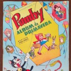 Tebeos: PUMBY ÁLBUM PRIMAVERA 1966. Lote 221568627