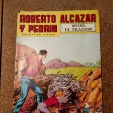 Tebeos: COMIC DE ROBERTO ALCAZAR Y PEDRIN EN MUZO, EL TRAIDOR Nº 169. Lote 221581347