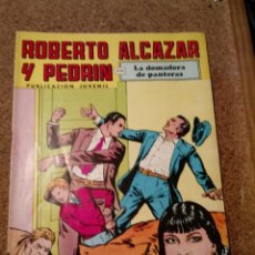 Tebeos: COMIC DE ROBERTO ALCAZAR Y PEDRIN EN LA DOMADORA DE PANTERAS Nº 92. Lote 221581536