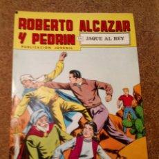 Tebeos: COMIC DE ROBERTO ALCAZAR Y PEDRIN EN JAQUE AL REY Nº 206. Lote 221582712