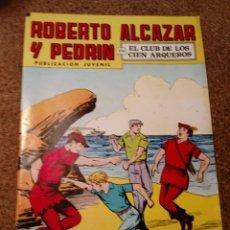 Tebeos: COMIC DE ROBERTO ALCAZAR Y PEDRIN EN EL CLUB DE LOS CIEN ARQUEROS Nº 205. Lote 221583046