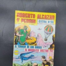 Tebeos: ROBERTO ALCAZAR Y PEDRIN EXTRA N. 20 EL TERROR DE LOS ANDES Y EL DIABOLICO DOCTOR PAT. Lote 221650738