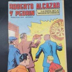 Tebeos: ROBOERTO ALCAZAR Y PEDRIN.. LA PISTA DE LA MUJER INVISIBLE. Lote 221651186