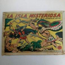 Tebeos: LA ISLA MISTERIOSA CON EL GUERRERO DEL ANTIFAZ Nº 399. Lote 221725770