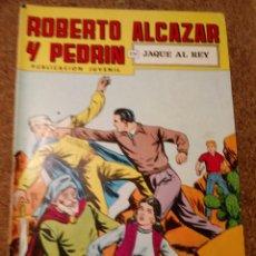 Tebeos: COMIC DE ROBERTO ALCAZAR Y PEDRIN EN JAQUE AL REY Nº 206. Lote 221735228