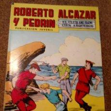 Tebeos: COMIC DE ROBERTO ALCAZAR Y PEDRIN EN EL CLUB DE LOS CIEN ARQUEROS Nº 205. Lote 221735242