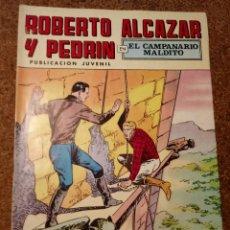 Tebeos: COMIC DE ROBERTO ALCAZAR Y PEDRIN EN EL CAMPANARIO MALDITO Nº 37. Lote 221735255