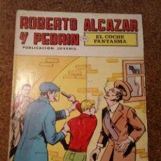 Tebeos: COMIC DE ROBERTO ALCAZAR Y PEDRIN EN EL COCHE FANTASMA Nº 60. Lote 221735265