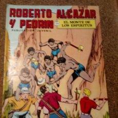 Tebeos: COMIC DE ROBERTO ALCAZAR Y PEDRIN EN EL MONTE DE LOS ESPÍRITUS Nº 160. Lote 221735318