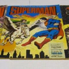 Tebeos: SUPERMAN ED. VALENCIANA - 3 NºS - COMPLETA - FORMATO GIGANTE - BUEN ESTADO. Lote 221762653