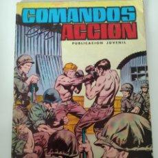 Tebeos: COMIC COMANDOS ACCIÓN N 33 AÑO 81. Lote 221889980
