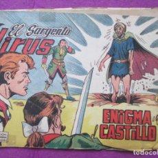 Tebeos: TEBEO EL SARGENTO VIRUS Nº 6 ENIGMA EN EL CASTILLO ED. VALENCIANA ORIGINAL. Lote 221910460