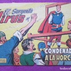 Tebeos: TEBEO EL SARGENTO VIRUS Nº 17 CONDENADO A LA HORCA ED. VALENCIANA ORIGINAL. Lote 221910618