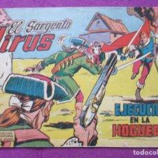 Tebeos: TEBEO EL SARGENTO VIRUS Nº 4 EJECUCION EN LA HOGUERA ED. VALENCIANA ORIGINAL. Lote 221911075