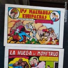 Tebeos: LOTE 2 TEBEOS / CÓMIC ROBERTO ALCÁZAR Y PEDRÍN N 19 Y 21 VALENCIANA 1981. Lote 221924400