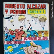 Tebeos: TEBEO / CÓMIC ROBERTO ALCÁZAR Y PEDRÍN EXTRA N 1 VALENCIANA 1976. Lote 221935941