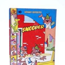 Tebeos: HANNA BARBERA, PUBLICACIÓN JUVENIL 10. SNOOPER. EDIPRINT, 1983. OFRT. Lote 222059088