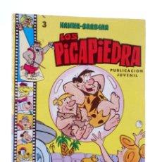 Tebeos: HANNA BARBERA, PUBLICACIÓN JUVENIL 3. LOS PICAPIEDRA. EDIPRINT, 1983. OFRT. Lote 222059098