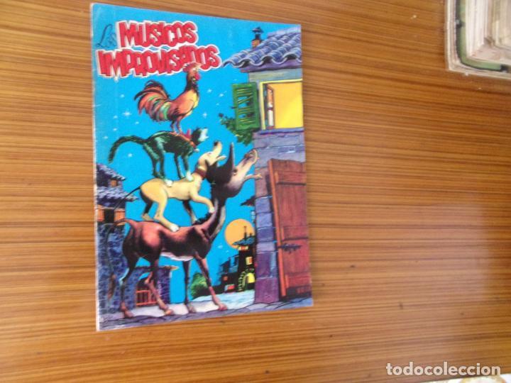 ADAPTACIONES GRAFICAS DE CUENTOS CLASICOS LOS MUSICOS IMPROVISADOS EDITA VALENCIANA (Tebeos y Comics - Valenciana - Otros)