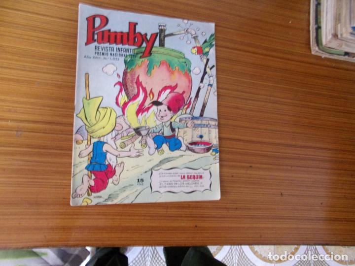 PUMBY Nº 1032 EDITA VALENCIANA (Tebeos y Comics - Valenciana - Pumby)