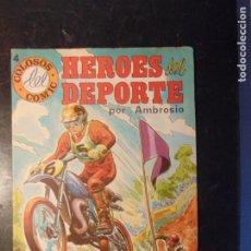 Tebeos: HEROES DEL DEPORTE Nº 4. Lote 222135621