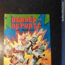 Tebeos: HEROES DEL DEPORTE Nº 5. Lote 222135685
