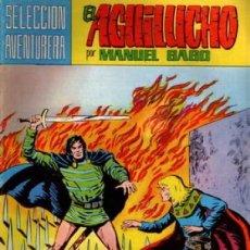 Tebeos: EL AGUILUCHO-SELECCIÓN AVENTURERA- Nº 10 -DURA VICTORIA-1981-GRAN MANUEL GAGO-CORRECTO-LEA-3921. Lote 222152542