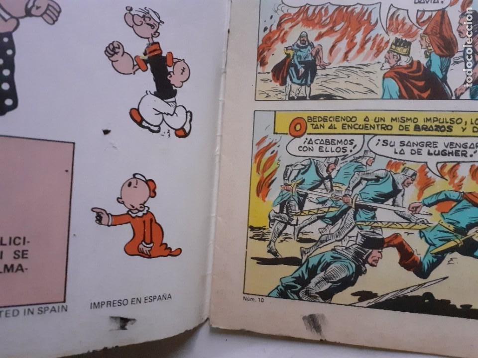 Tebeos: EL AGUILUCHO-SELECCIÓN AVENTURERA- Nº 10 -DURA VICTORIA-1981-GRAN MANUEL GAGO-CORRECTO-LEA-3921 - Foto 4 - 222152542