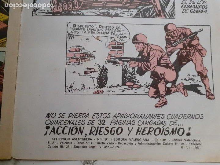Tebeos: EL AGUILUCHO-SELECCIÓN AVENTURERA- Nº 10 -DURA VICTORIA-1981-GRAN MANUEL GAGO-CORRECTO-LEA-3921 - Foto 5 - 222152542
