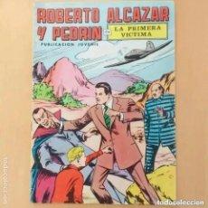 Tebeos: ROBERTO ALCAZAR Y PEDRIN - LA PRIMERA VICTIMA. VALENCIANA. NUM 4.. Lote 222238010