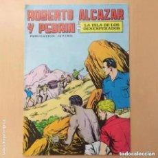 Tebeos: ROBERTO ALCAZAR Y PEDRIN - LA ISLA DE LOS DESESPERADOS. VALENCIANA. NUM 64. Lote 222261556