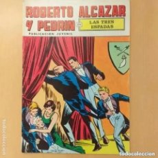 Tebeos: ROBERTO ALCAZAR Y PEDRIN - LAS TRES ESPADAS. VALENCIANA. NUM 25. Lote 222264935