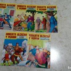 Tebeos: ROBERTO ALCAZAR Y PEDRÍN Nº 236, 238, 241, 245 Y 278 - ED. VALENCIANA. Lote 222275920