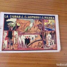 Tebeos: JULIO Y RICARDO Nº LA CIUDAD DE LOS HOMBRES DE PIEDRA EDITA VALENCIANA. Lote 222312620