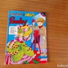 Tebeos: GRAN ALBUM DE JUEGOS PUMBY Nº 15 EDITA VALENCIANA. Lote 222315233