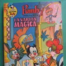 Tebeos: LIBROS ILUSTRADO PUMBY Nº 42 LA VARITA MAGICA EDITORIAL VALENCIANA. Lote 222353735