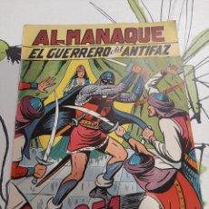 Tebeos: ALMANAQUE DEL GUERRERO DEL ANTIFAZ PARA 1951, MUY NUEVO. Lote 222368390