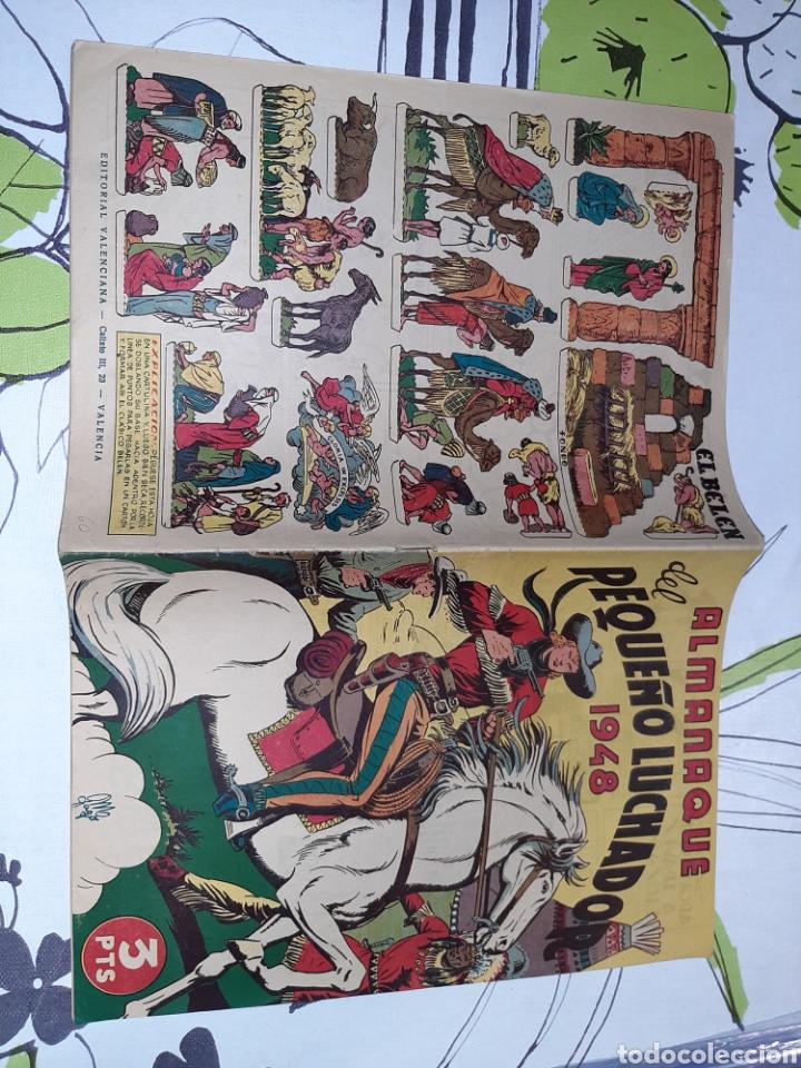 Tebeos: Almanaque de El Pequeño Luchador para 1948, original y muy nuevo - Foto 2 - 222373981