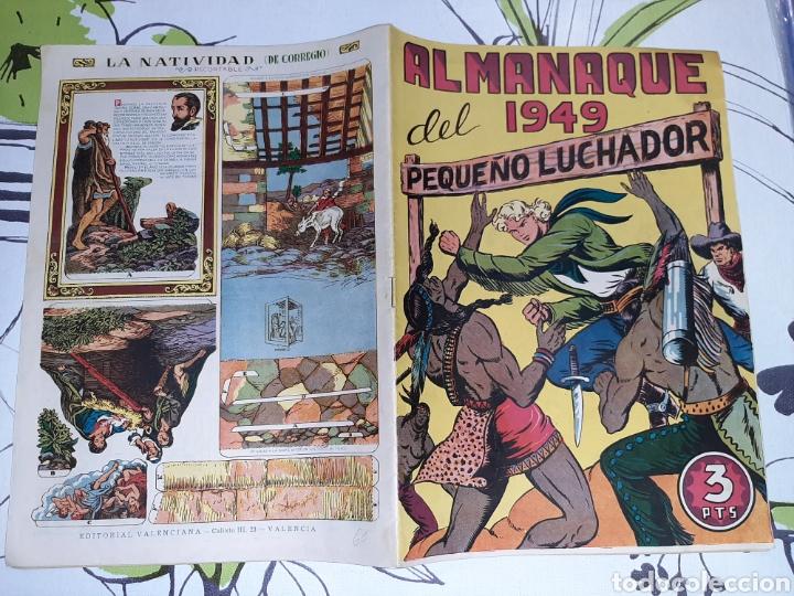 Tebeos: Almanaque de El Pequeño Luchador para 1949, original muy nuevo - Foto 2 - 222374483
